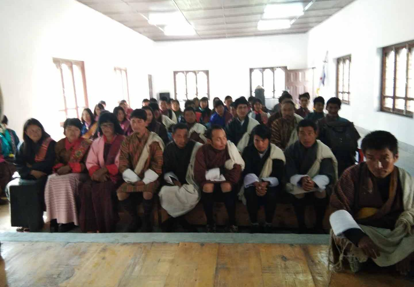 Naja Gewog-The first gewog where the Annual Census started