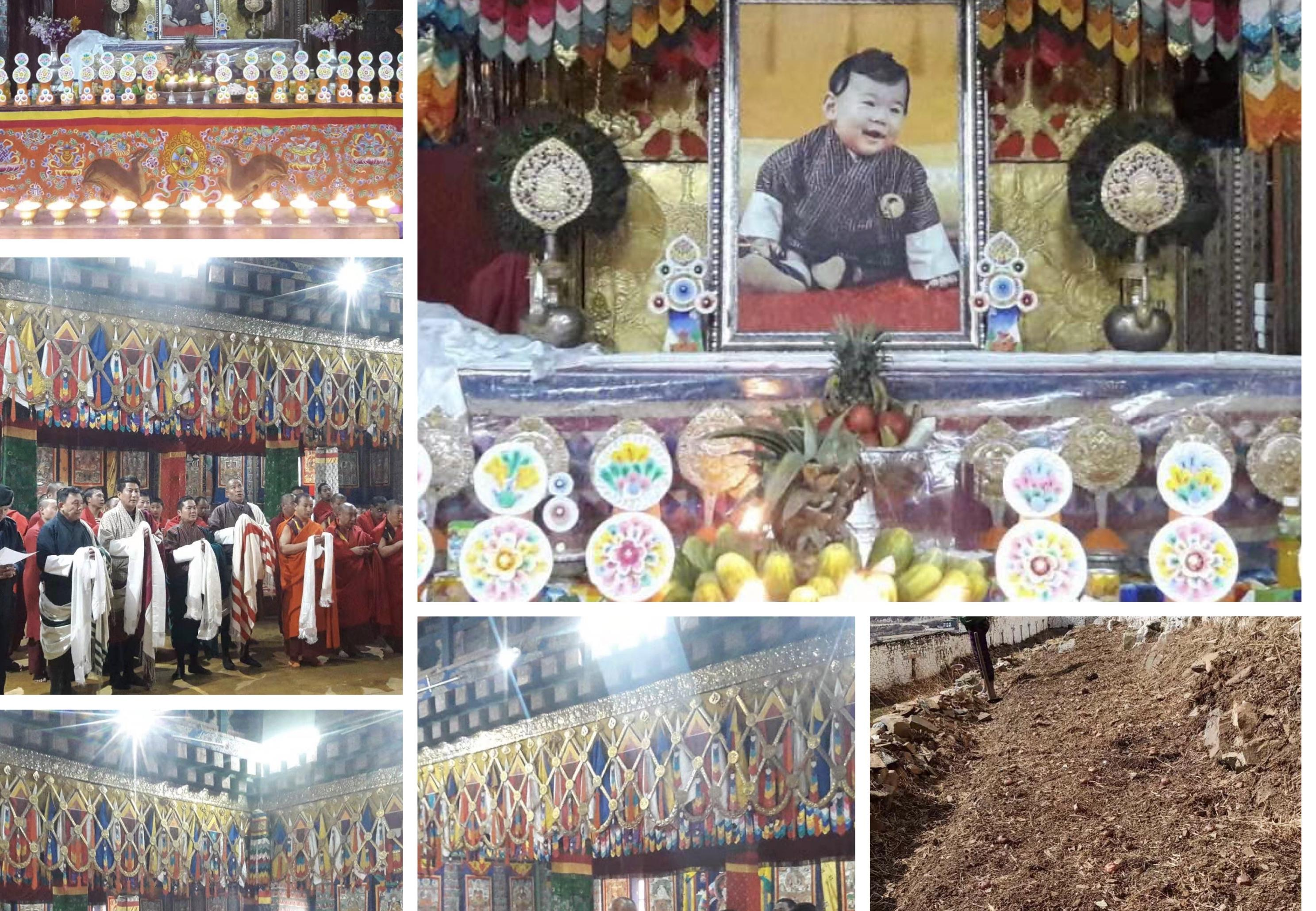 Paro Dzongkhg Celebrates the 4th Birth Anniversary of our Beloved Gyalsey