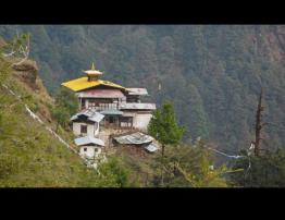 Chumphu Ney the seating place of Dorje Phagmo, is one of the most revered by the people of Bhutan.