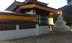 Paro Kitchu Monastery during the Annual Kitchu Drupchen